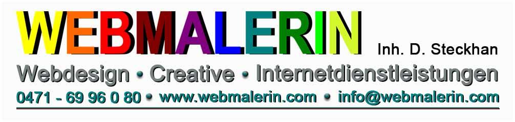 Webmalerin - Internetdienstleistungen - Suchmaschinenoptimierung - PC-Hilfe - Webhosting - Photographie